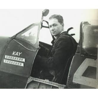 Hobby Master Aviation Spitfire Mk.IXc ML214 squadron leader Johnny Plagis 126 Squadron RAF Harrowbeer Devon Oct 1944 1:48 Scale HA8320