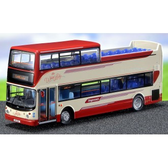 Northcord Model Company Alexander ALX400-Bodied Dennis Trident Open-Topper Stagecoach North West White Lady Livery 7012 S812 BWC 1:76 Scale UK1502