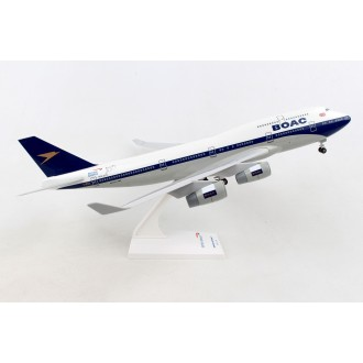 Skymarks British Airways 747-400 BOAC G-BYGC 100 Year Livery with Landing Gear 1/200 Scale SKR1015A