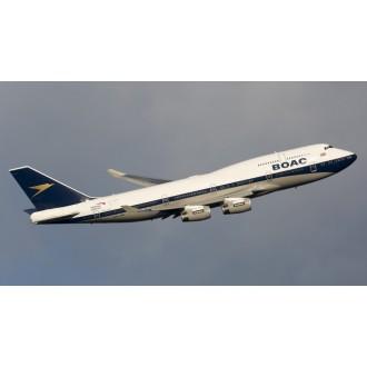 Skymarks British Airways 747-400 BOAC G-BYGC 100 Year Livery with Landing Gear 1/200 Scale SKR1015A