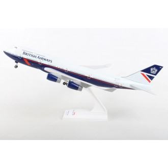 Skymarks British Airways B747-400 Landor Retro Livery 100 Year Anniversary 1919-2019 with Landing Gear G-BNLY 1:200 Scale SKR1030
